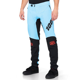 100% R-Core-X DH Bukser Herrer, light blue/black